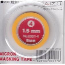 AIZ-2001-4 Micron Model Masking Tape - 1.5mm