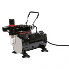 TC-802 Airbrush Compressor with Regulator and Moisture Trap