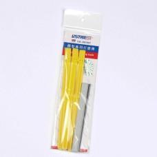 UA-1607  Long Handles with Abrasive Paper Belts 3 pieces