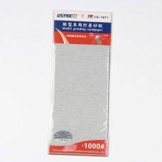 UA-1611 Self-Adhesive Abrasive Paper 1000# 4 sheets